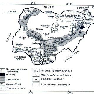 (PDF) Geothermal gradients in the Chad Basin, Nigeria