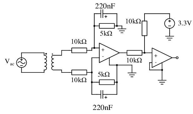 Electrical wiring diagram of the conditioning circuit