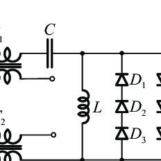 (a) Measured voltage waveforms: output voltage U DC (thick