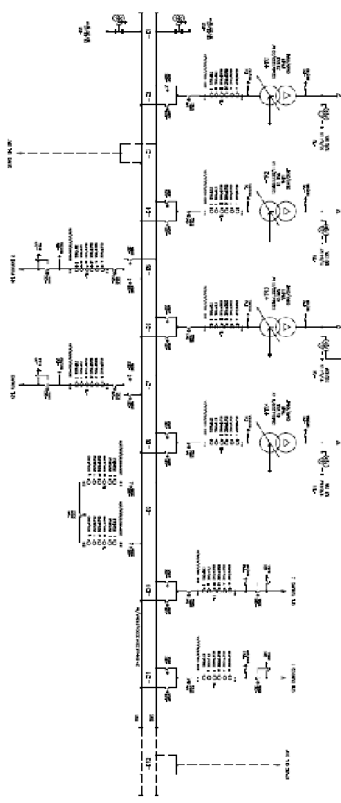 Single line diagram of proposed switchyard concept