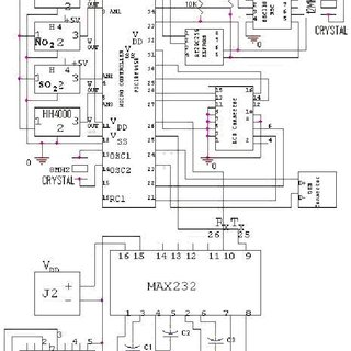 Operating circuit of temperature sensor (LM35 CZ