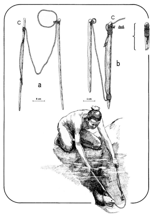 small resolution of lasso or here koreha used to catch moray eels based on m traux 1940