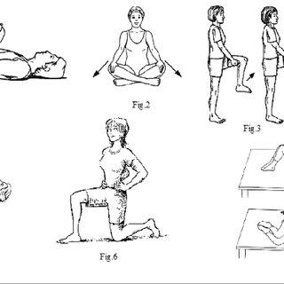—B Strengthening exercises to strengthen abdominal, hip