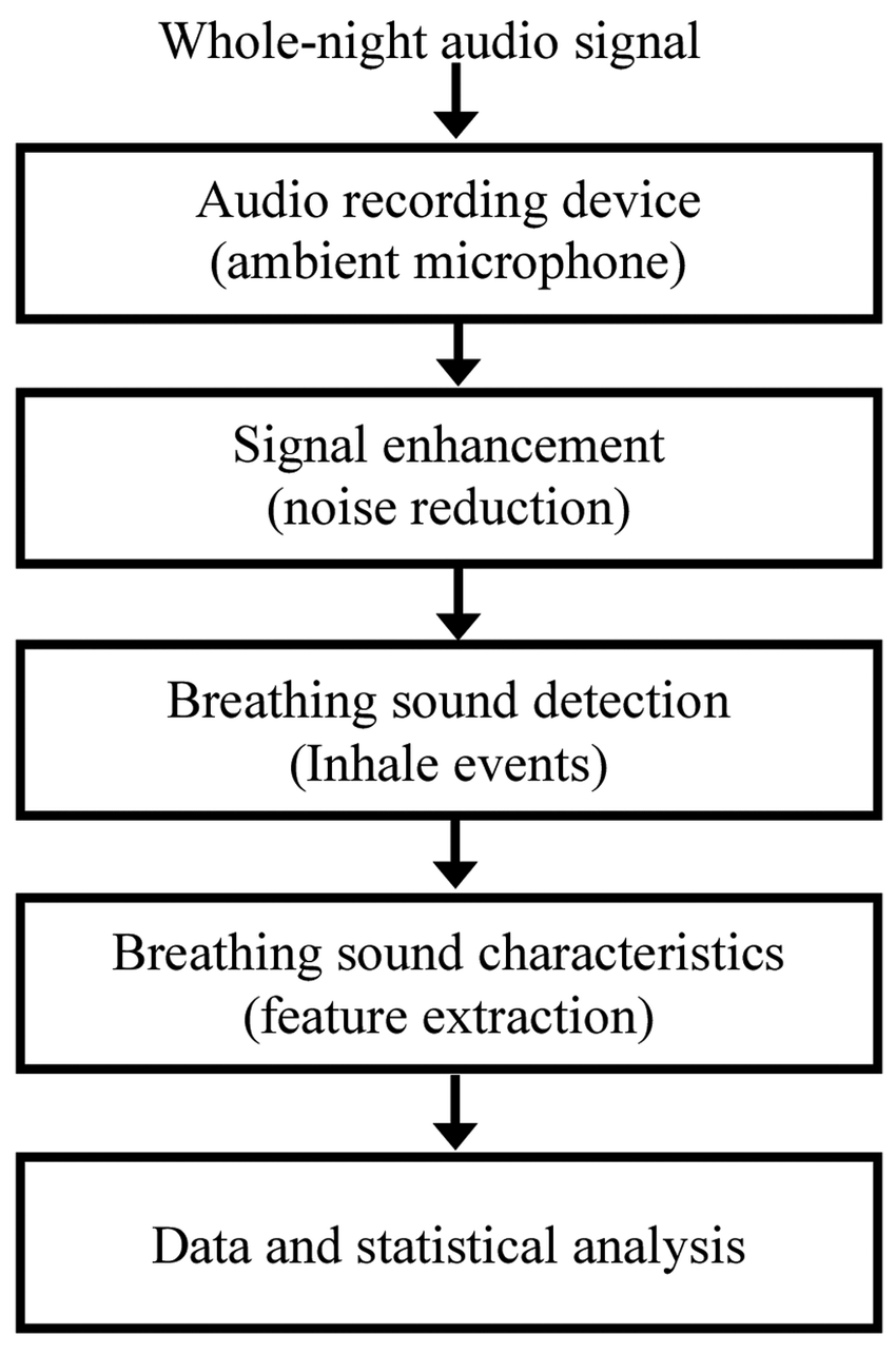 medium resolution of block diagram of audio data handling and analysis