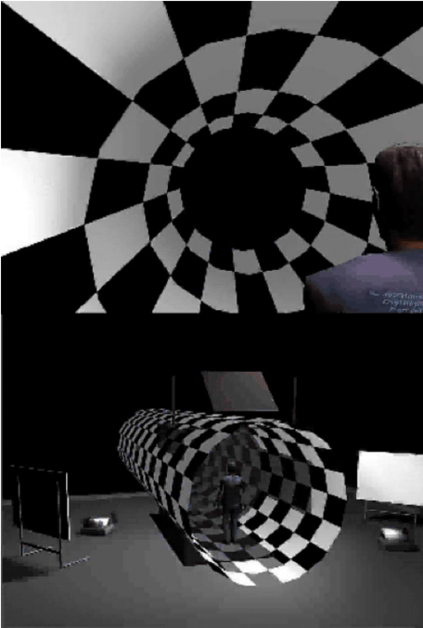 medium resolution of the virtual tunnel paradigm for demos go to http vision