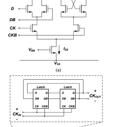 a stscl latch circuit schematic and b the topology of the [ 850 x 1457 Pixel ]
