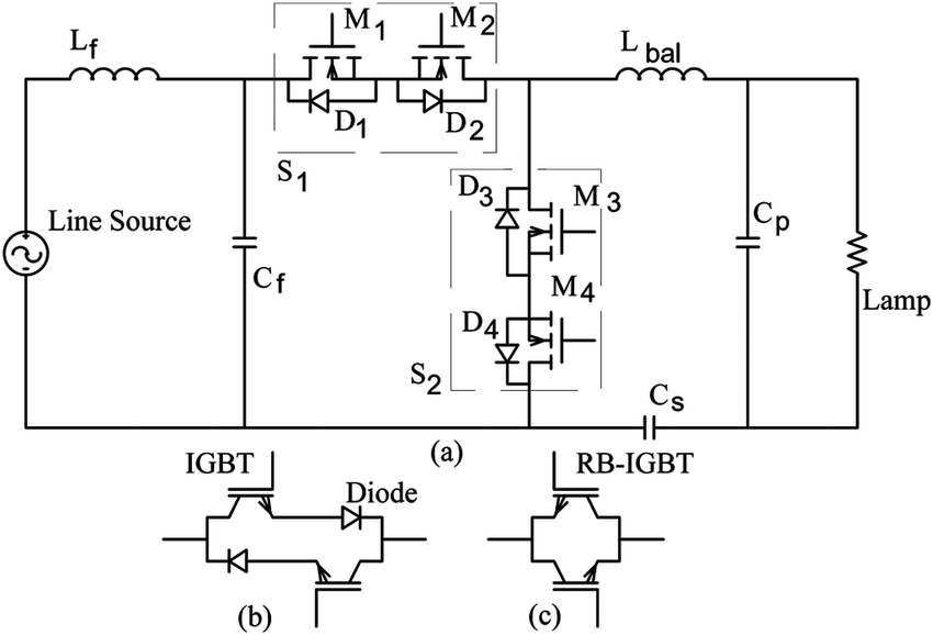 (a) AC chopper and possible bidirectional switch