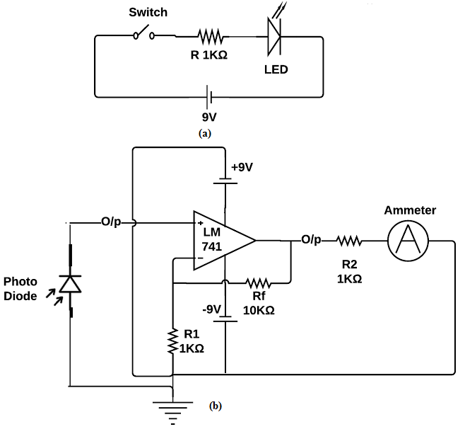 led light circuit diagram for dummies how to create a flow of source and b photodiode