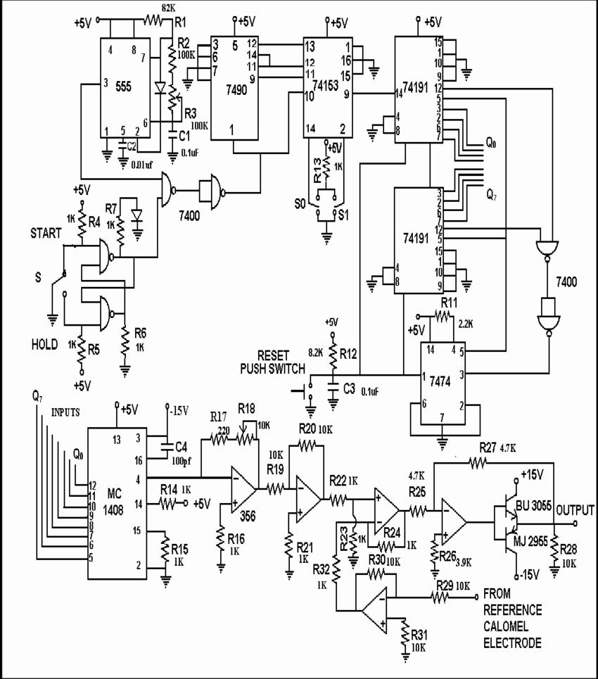 Circuit diagram of a cyclic voltage generator download scientific
