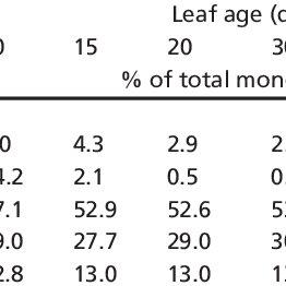 Essential oil composition of S. morganae Freyn aerial