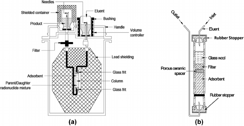 Schematic diagram of a typical IRG. (a) A column