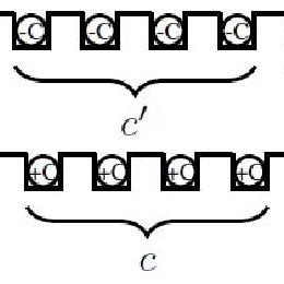 24-slot, 2-pole, three-phase stator single-layer winding