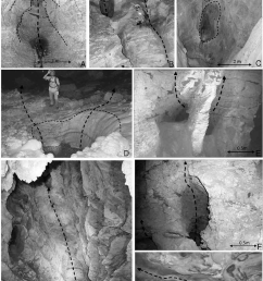 examples of morphological features generated by hypogene speleogenesis as identified in vazante caves a rising chains of ceiling cupolas b side feeder  [ 850 x 1307 Pixel ]