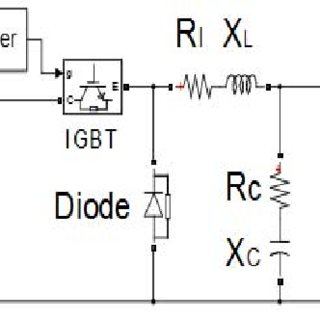 Control block diagram of PI based Buck Converter