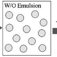 Scheme 1. Preparation of doped core/shell particles via