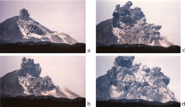 Mt. St. Helens flank collapse event