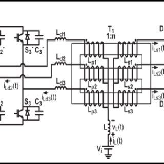 4: Basic Circuit Diagram of the ZVS-PWM Three Phase