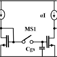 Basic Circuit of Current DAC using Binary Weighted Current