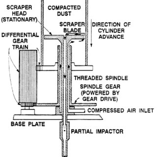 Schematic of an open circuit aerosol wind tunnel
