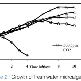 Maximum biomass and specific growth rate of fresh water