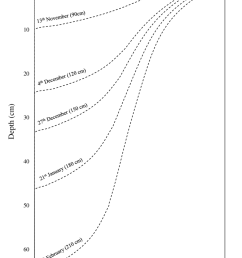 9 modelled hydrohalite concentrations during the formation of first year snow free sea ice in the arctic basin the full depth of the ice pack is not  [ 850 x 1225 Pixel ]