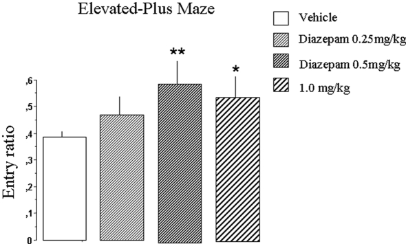 Interaction between Diazepam and Hippocampal