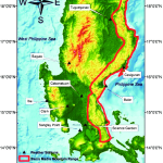 Extent Of The Sierra Madre Mountain Range Outlined In Red With Selected Download Scientific Diagram