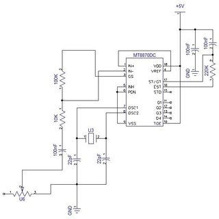 dtmf decoder ic mt8870 pin diagram 2000 mustang factory radio wiring configuration of 2 1 circuit unit design figure 6