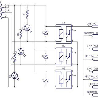 dtmf decoder ic mt8870 pin diagram 2003 chevy truck radio wiring configuration of 2 1 circuit the module 3 relay control