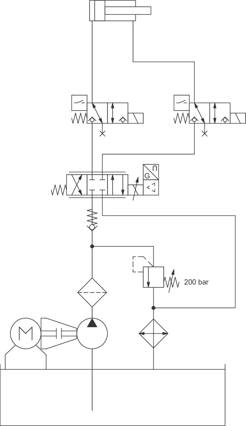 medium resolution of 2 hydraulic circuit diagram for a press