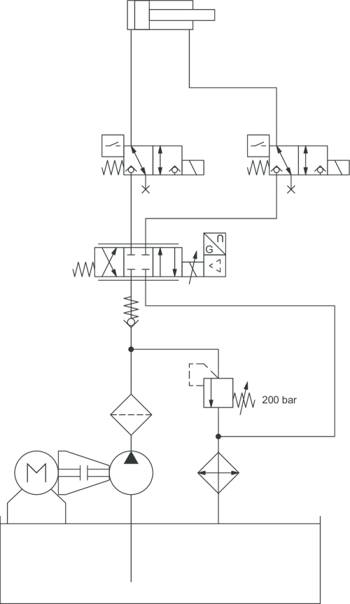 small resolution of 2 hydraulic circuit diagram for a press