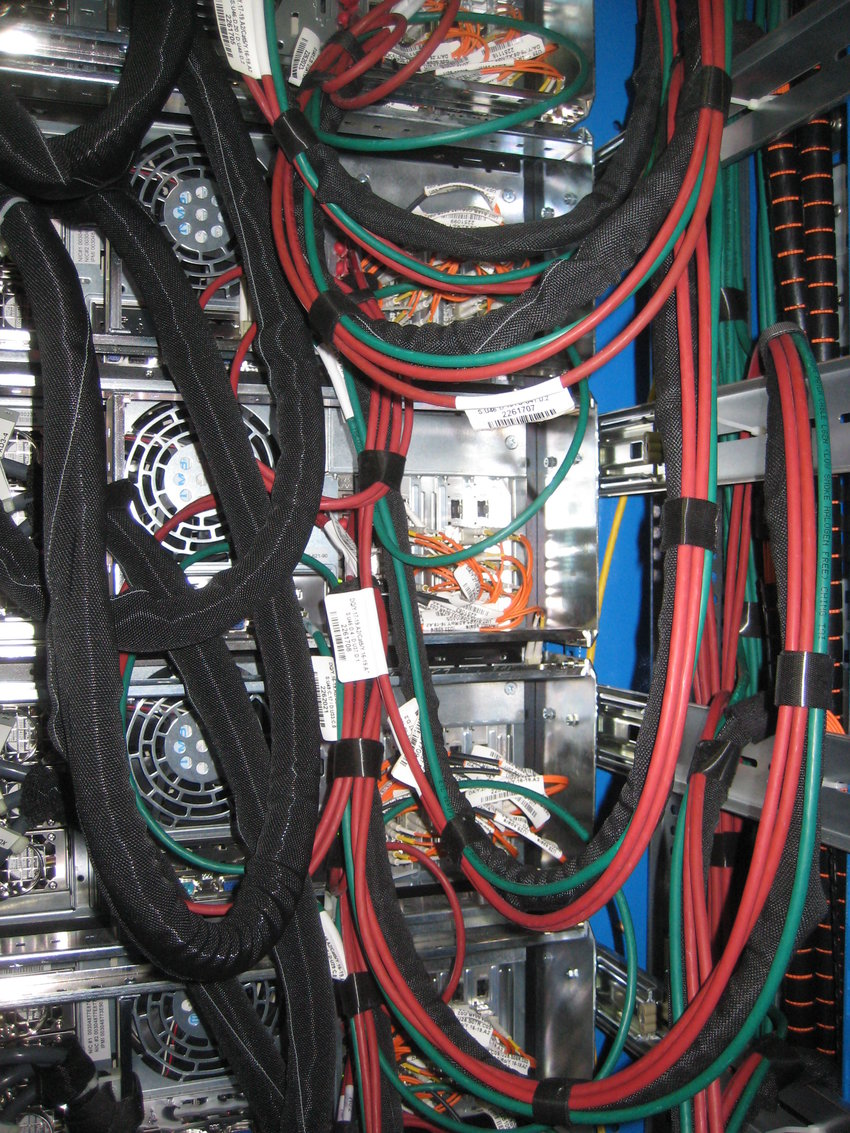 medium resolution of ros rack internal cabling s link fibers connecting rods to robin cards download scientific diagram
