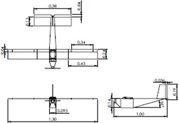 Horizontal tail arm (L HT ) and Vertical tail arm (L vT