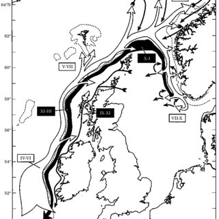 Map of the acoustic survey areas showing the overlapping
