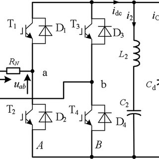 Topology of the single-phase PWM rectifier circuit