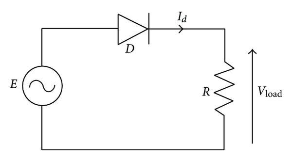 circuit diagram of half wave rectifier