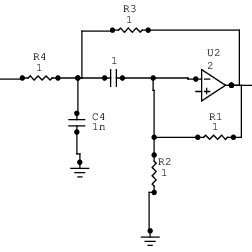 Low-voltage two-stage op-amp with class-AB output stage