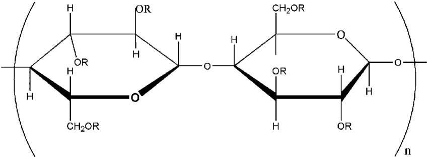 Structure of ethyl cellulose (EC) and hydroxypropyl