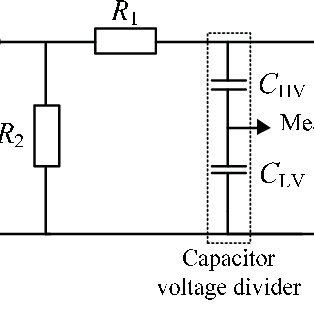 Equivalent diagram of test circuit during lightning