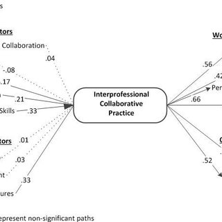 Conceptual framework for interprofessional collaborative