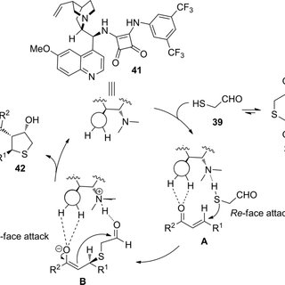 Scheme 11. Squaramide-catalyzed Michael/aldol reaction
