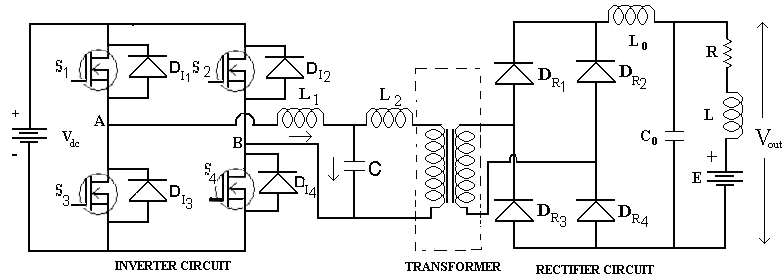 LCL-T Series Parallel Resonant Converter A schematic