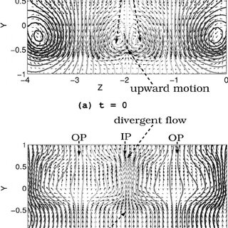 The vortex shedding process using particle path lines for