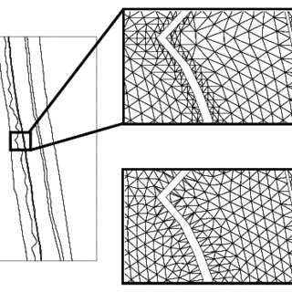 A 3D tetrahedral grid is produced from a hexahedral model