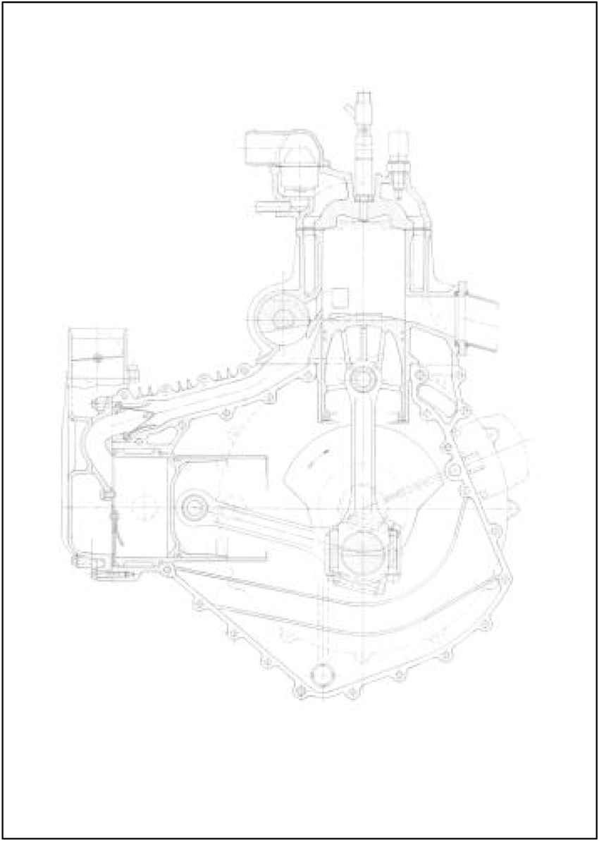 Drawing illustrating a cut-out of the CI Supercharged