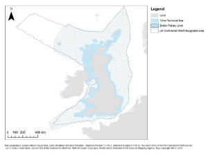 Map of the UK territorial waters and continental shelf | Download Scientific Diagram