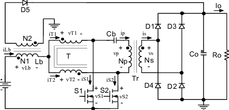 Proposed isolated DC-DC boost converter using 3SSC