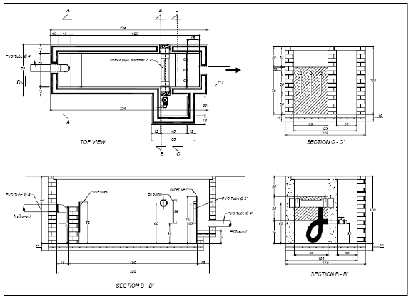 Design of the prototype separator Based on the existing