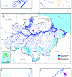 surface water types mapped for the entire amazon biome in 2007 the download scientific diagram [ 850 x 1117 Pixel ]