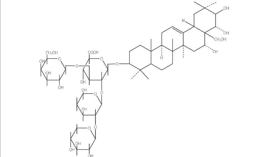 Structural formula of TDS (Luo-Wei) and its chemical name